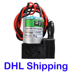 10pcs 100ml/min Dc12v, 3w, Small Ink Pump For Sino Wide Format Printers