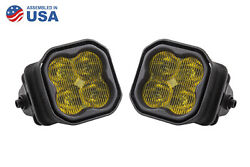Stage Series 3 Inch Type F2 Ss3 Fog Light Kit 1 300 Lumens Yellow Sae Fog Diode