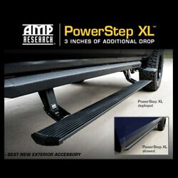 Amp Power Step Xl Side Steps Running Boards 2007-2013 Chevy / Gmc 1500 Crew Cab