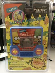 The - Simpsons - Bart Vs Homersaurus Tiger Talking Electronic Game Lcd Vintage
