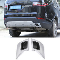 For Land Rover Discovery 5 2017-2020 Black Silver Rear Exhaust Muffler Tail Pipe
