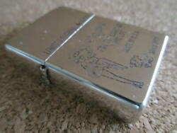 Zippo Lighter Betty Boop 1997 Girl Limited Edition Engraved Vintage Chrome Rare