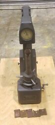 Wilson Rockwell 4jr-bb B And C Scale Hardness Tester In Good Condition - Free Ship