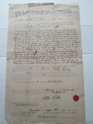 One 1 18th September 1873 Deed For Lincolnville Maine Land, Fuller To Hills
