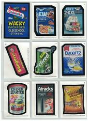 2020 Wacky Packages Old School Series 9 Complete Set Of 31 Cards