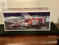 2005 Hess Emergency Truck With Rescue Vehicle- Sealed