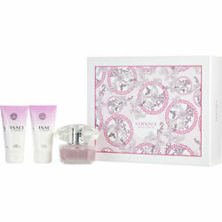 Versace Bright Crystal Eau De Toilette Spray And Body Lotion And Shower 50ml/1.7oz
