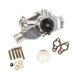 Short Aluminum Water Pump For Small Block Chevy Polished