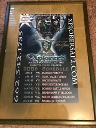 Memphis Explorers Afl Arena Football One Of A Kind Collection Rip Danton