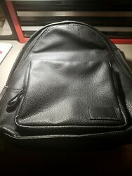 Black calvin klein backpack men $60.00