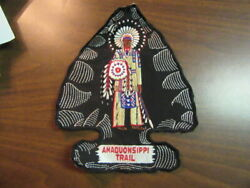 Amaquonsippi Trail Jacket Patch Approx 8 By 10 Inches   Eb09