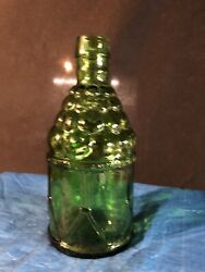 Vintage 8 Wheaton Green Mcgivers American Army Bitters Bottle