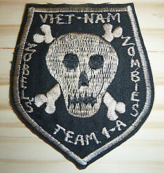 Patch - Us Special Forces - Zobel's Zombie's - Mike Force A1 - Vietnam War, 1077
