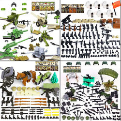German Army Soldiers Military Building Blocks Weapons Kids Toys World War 2