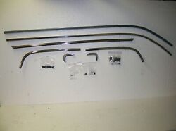 Upper Bed Roof Tailgate Molding 7 Pc With Clips And Screws 78-87 El Camino Kupm