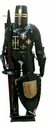 Combat Full Body Armour Medieval Knight Suit Adult Halloween Larp