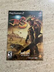 Rare Sealed Jak 3 Demo Disc Sony Playstation 2 Ps2, 2004
