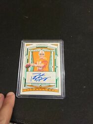 2020 Nt Collegiate Rare Must Have Peyton Manning 3/5 The /20 Sold @ Over 800