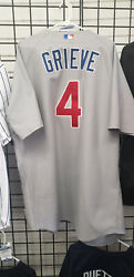 Ben Grieve Chicago Cubs Game Worn Used Jersey 2005 Road