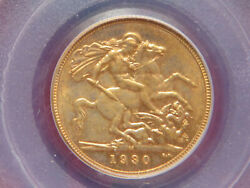 Australia. 1930 Melbourne - Sovereign.. Pcgs Au58.. Gef/aunc - Much Lustre