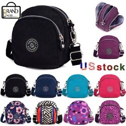 Women Nylon Small shoulder bag Handbag Travel Crossbody Purse Satchel Messenger $10.59