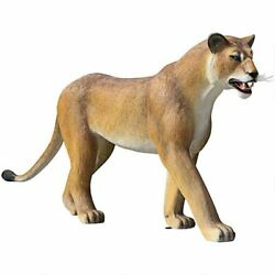Katlot The Grande-scale Wildlife Animal Collection Lioness On The Prowl Statue