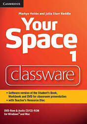 Your Space Level 1 Classware Dvd-rom With Teacherand039s Resource Disc Hobbs Martyn