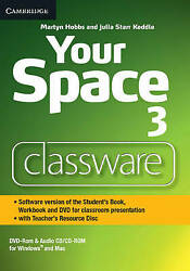 Your Space Level 3 Classware Dvd-rom With Teacherand039s Resource Disc Hobbs Martyn