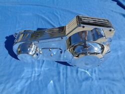 New Billet Aluminum Inner And Outer Primary Covers Evo Softail Dyna Chopper Bobber