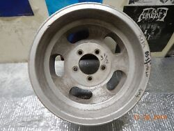 Vintage 15x8.5 Slot Mag Wheel 5 On 5 Chevy Van/truck Ford/chevy Full-size Cars