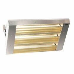 Fostoria 343-60-thss-240v Electric Infrared Heater, Ceiling, Suspended, 304