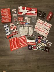 Supreme Accessories Lot Bundle Steal Willing To Take Offers Want Them Goneeeeee