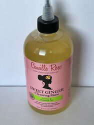 Camille Rose Naturals Sweet Ginger Cleansing Rinse Hair Shampoo Castor Oil
