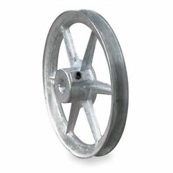 Congress Ca1000x062kw 5/8 Fixed Bore 1 Groove Standard V-belt Pulley 10.00 Od