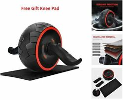 Pro Ab Roller Wheel Carver Abs Workout With Knee Mat Premium Home Gym Equipment