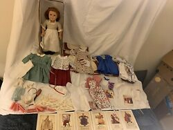 Retired American Girl/ Pleasant Company Doll Felicity And 9 Outfits
