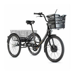 Tricycle Electrique-vae City Leader Fox 24 Lovelo Mixed Engine Front Bafang