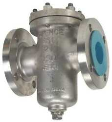 Ssi 0300-150b1ft-b 3, Flanged, Stainless Steel, Basket Strainer