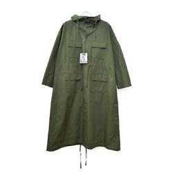 Engineered Garments Cagoule Dress-ripstop Size 2 Hooded Ladies Long Length New