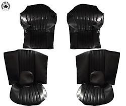 Seat Covers Suitable For Bmw E9 2800 Cs Year 1968 -1971 Black