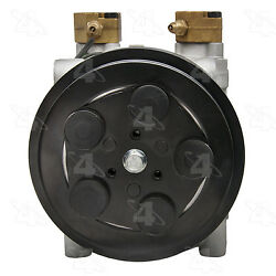 A/c Compressor And Clutch- New Four Seasons 68704