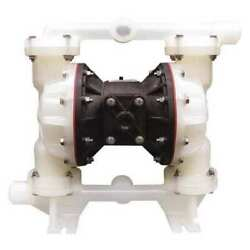 Sandpiper S1fb3p1ppni000. Double Diaphragm Pump, Polypropylene, Air Operated,