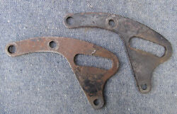 Triumph Pre Unit Motorcycle Gearbox Mounting Plates Rigid Frame To 1954 650 500