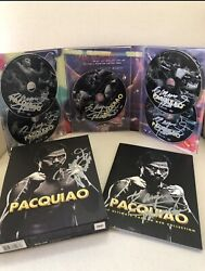 Manny Pacquiao Dvd Ultimate Fight Collection With Autographed Brand New