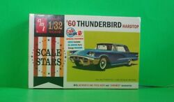 Ford 1960 Thunderbird Hardtop 132 Scale Amt Retro Deluxe Edition Scale Stars