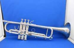 Cannonball Trumpet 725-s Serial No.45761 German Silver Plated Finish Maintained
