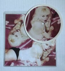 Angelyne My List / Skin Tight 1983 Promo 5 Picture Disc Erika Records Sexy Punk