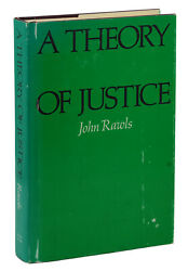 A Theory Of Justice By John Rawls First Edition 1971 1st Printing In Jacket