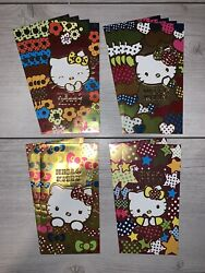 Chinese New Year High Quality Red Foil Envelopes 12 Pc Hello Kitty Lunar Money