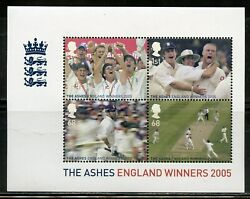 Great Britain Scott 2320 The Ashes Souvenir Sheet Mint Never Hinged